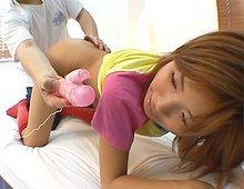 Les charmes de la jeunesse japonaise.